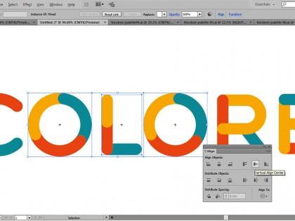 Typographie TriColore gratuite
