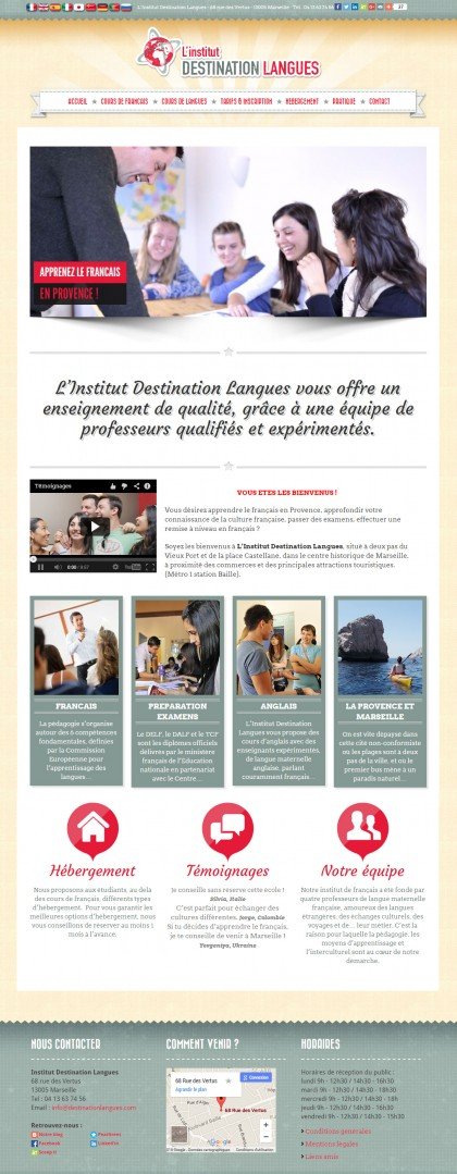 L'Institut Destination Langues